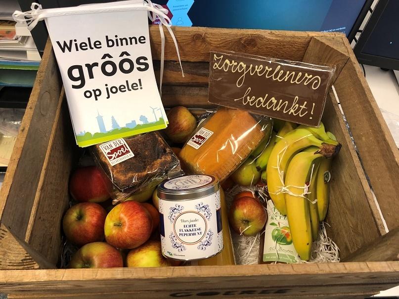Cadeau gemeente fruitkist